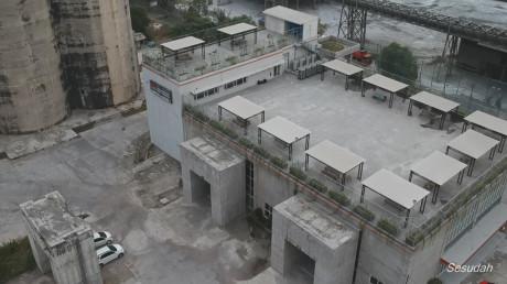 Bangunan bekas pabrik semen UISI