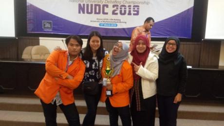 Tim Peraih Juara 3 NUDC