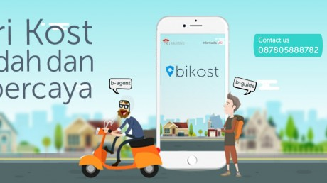 Bikost - Startup Informatika UISI untuk pencarian kost yang mudah dan terpercaya
