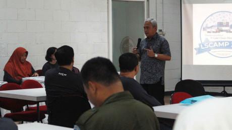 Sambutan oleh Bapak Prof. Dr. Ing. Herman Sasongko dalam acara LSCAMP2019