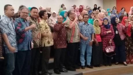 Foto bersama UISI dan Komisi Pemberantasan Korupsi