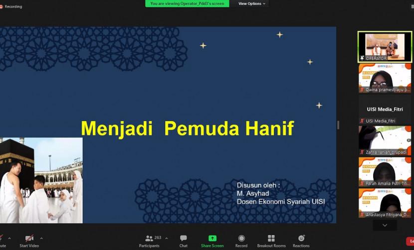 Sesi Pertama IO-CHAMPS DAY 8,  Pemaparan Spiritual Motivation Oleh Drs. Muhammad Arsyad, M.Pd.I.