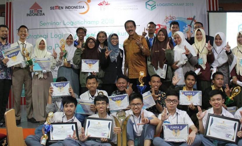 Antusias Para Peraih Juara LOGISTICHAMP 2018